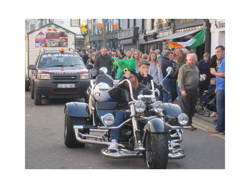 Chauffeur Service St Patrick's Day Parade
