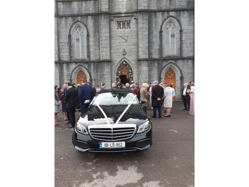 Luxurious Wedding Car Hire Killashee House Co Kildare