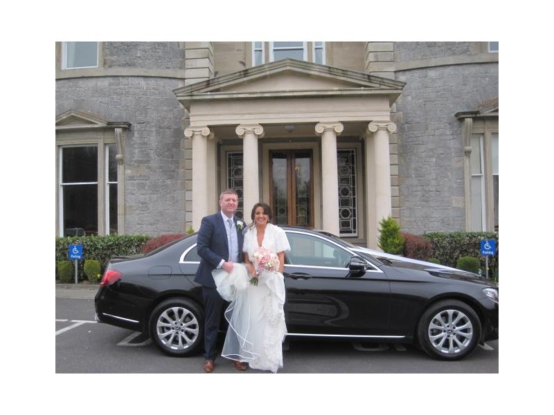 Luxury Wedding Car Bridge House Tullamore Co Offaly