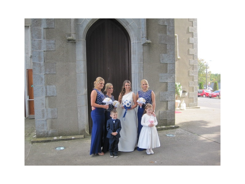 Wedding Car Durrow Castle